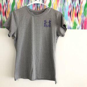 🦋 3/$15 Underarmour grey t-shirt - Sm
